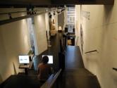 Römermuseum innen Treppe