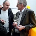 Fritz Schöffauer, Architekt, und Bruno Sandbichler, Sprecher der ig-Architektur